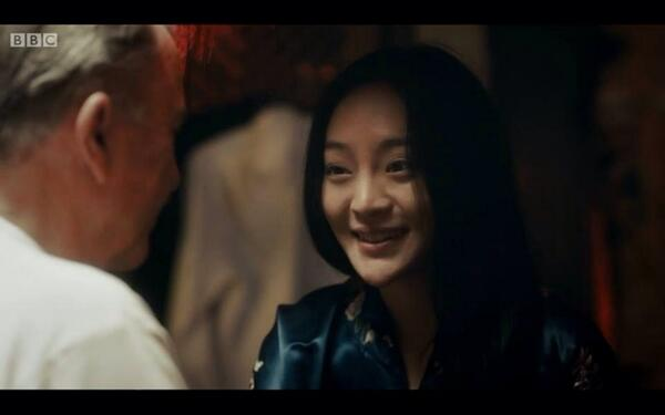 Kunjue Li in the BBC's other epic period drama 'Peaky Blinders'