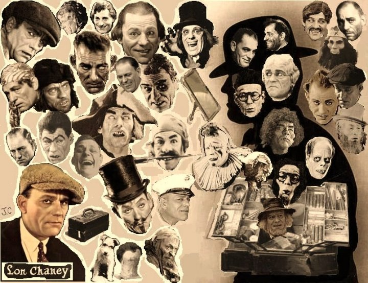 Lon Chaney: One of the early pioneers of makeup effects and truly a man of a thousand faces