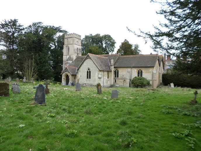 Location 3: Just outside Shirburn Castle, Waltlington, Oxon